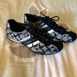 Coach black shoes